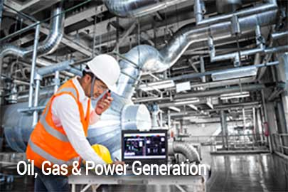 Oil, Gas & Power Generation